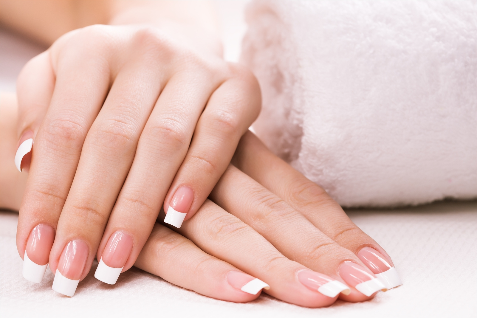 Pink White Passion Nails Spa
